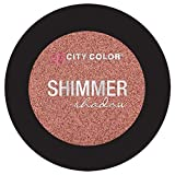 City Color Cosmetics Metallic Shimmer Eyeshadow | Vibrant, Bold, Beautiful Pigmented Makeup (Homecoming Queen)