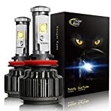 CougarMotor LED Headlight Bulbs All-in-One Conversion Kit - 9005-7,200 Lm 6000K Cool White CREE - 2 Year Warranty
