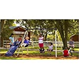Flexible Flyer Triple Fun II Metal Swing Set