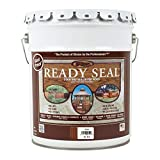 Ready Seal 515 5-Gallon Pail Pecan Exterior Wood Stain and Sealer