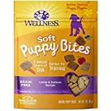 Wellness Soft Puppy Bites Natural Grain Free Puppy Training Treats, Lamb & Salmon, 3-Ounce Bag