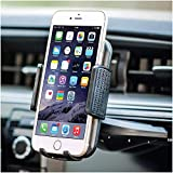 Bestrix Universal CD Phone Mount Cell Phone Holder for Car Compatible with All Smartphones up to 6.5'