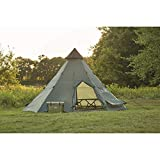 Guide Gear Teepee Tent, 18' x 18'
