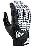 adidas Adifast 2.0 Adult Football Receivers Glove, White/Black, X-Large
