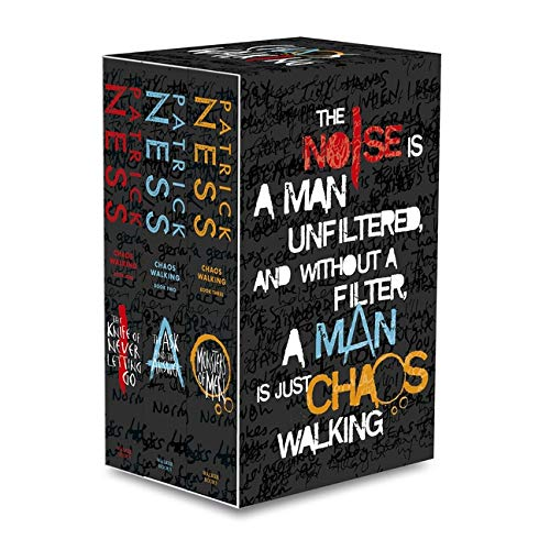 Chaos Walking Trilogy Series Collection Patrick Ness 3 Books Box Set