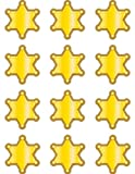 Teacher Created Resources Western Sheriff Badge Mini Accents (5536)