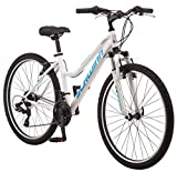 "Schwinn High Timber Women's Mountain Bike, 26"" Wheels, White/Blue"