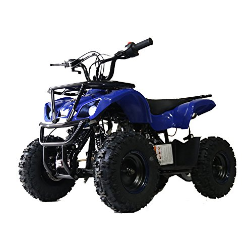 RED Color 85% assembled Auto Kids Kandi ATV 50cc Apache Four Wheelers Gas Powered ATV Quad Children Boy Girl