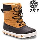 Merrell Snow Bank 2.0 Waterproof Snow Boot , Wheat/Black, 7 M US Big Kid