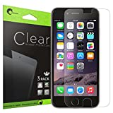 iPhone 6 Plus Screen Protector, [3 Pack] [Screen Protector] i-Blason for Apple iPhone 6 Plus 5.5 inch [Easy Application] Maximum Clarity and Touchscreen Accuracy