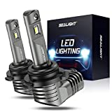 SEALIGHT Scoparc S2 9005/HB3 LED Headlight Bulbs, 9005 LED High Beam, 1:1 Halogen Bulb Design, 6000K Bright White