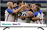 Hisense 2018 Model Roku TV 55' Class R7E (54.6' diag.) 55R7E 4K UHD Roku TV with HDR (Renewed)