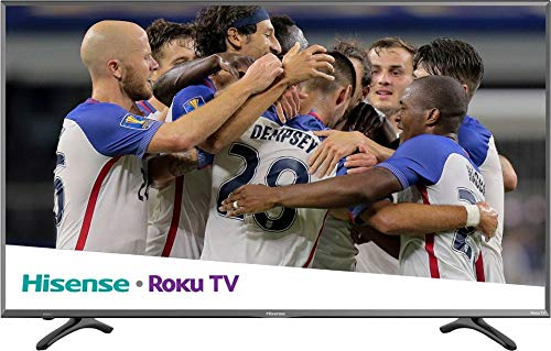 Hisense 2018 Model Roku TV 55' Class R7E (54.6' diag.) 55R7E 4K UHD Roku TV with HDR (Renewed)