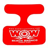 WOW World of Watersports, 14-2140 Beach Bronco Floating Pool Seat, Saddle Float, Red