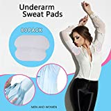 Underarm Sweat Pads - Lavince Fight Hyperhidrosis[ 80 Pack / 40 Pairs ] PREMIUM QUALITY Underarm Armpit Sweat Pads Shield Dress Shields Sweat Guard for Women and Men