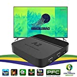 iptv Brazil Brazilian tv Box,a2 4k tv Box,2019 Newest Portuguese PFC TV Channel Show BTV Set-Top Box, More Than 200 Brazilian TV Shows, Better Faster Then IPTV6 HTV 5 6 IPTV6+,4K TV Box Brazil
