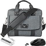 """VanGoddy Chrono Laptop Bag w/ Mouse and USB HUB for MSI Shadow GS30 13.3"""""""