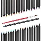 Lightwish 3220-48TN Watercolor Pencils, 48 Colors Watercolor Pencil Art Set in Tim for Artist Watercolor Paint, Sketching, Drawing, Coloring