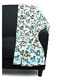 City Chic Dog Lover Velvety Soft Plush Throw Blanket (60' x 70')