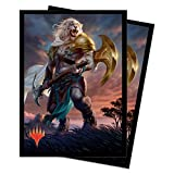 Ultra PRO Magic: The Gathering M20 Ajani, Strength of The Pride Deck Protector Sleeves (100 ct.)