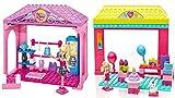 Barbie Mega Bloks Chelsea Birthday Fun and Walk-in Closet Bundle set