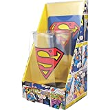 Superman Glass and Coaster Gift Set by DC Comics