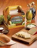 Deluxe Cheese-Making Kit Makes Farmhouse cheddar, Gouda, Colby, MontereyJack, Cottage, Feta, Ricotta and Parmesan