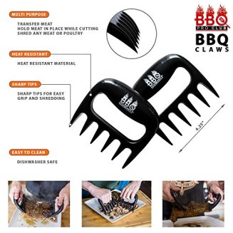 BBQ-Gloves-Meat-Claws-and-Digital-Instant-Read-BBQ-Thermometer-3-pc-Set-Heat-ResistantSilicone-Gloves-BBQ-Grilling-Tool-Accessories-Make-The