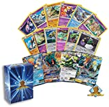 Pokemon Lot of All Legendary Pokemon Cards - 20 Cards Rares - Uncommon - Holos - Foils - GX - EX! Includes Golden Groundhog Box!