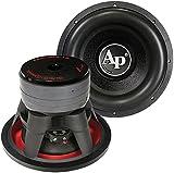 Audiopipe TXX-BD4-12 12' Woofer 2200 Watts Dual 4 Ohm Vc, Black, 15in x 11.75in x 15in