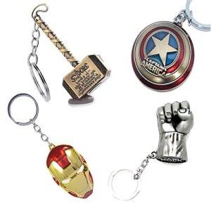 Marvel Keychain – Marvel Avengers Logo Keychains