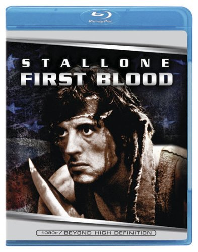 Rambo Blu-Ray DVD cover (1982) R2 German