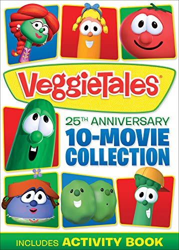VeggieTales 25th Anniversary 10 Movie Collection - LOW PRICE!