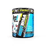 BPI Sports Best BCAA Powder with Energy, Branched Chain Amino Acids, Rainbow Ice, 25 Servings, 8.8 Ounce