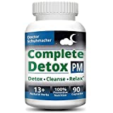 Longevity Complete Detox [PM] - Rapid Whole Body Detox with Support for Deeper Sleep & Better Relaxation - Colon, Liver, Lymph, Kidney Cleanse with Goji Berries & 13+ Other top Quality Natural Herbs