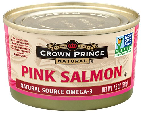 Crown Prince Natural Pink Salmon - Low in Sodium