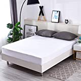 Luxury King Size Waterproof Mattress Protector,Mattress Cover,Noiseless and Breathable,10 Years Warranty(King)