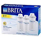 Brita Water Filter Pitcher Replacement Filters, 3 Count, (Pack of 2)