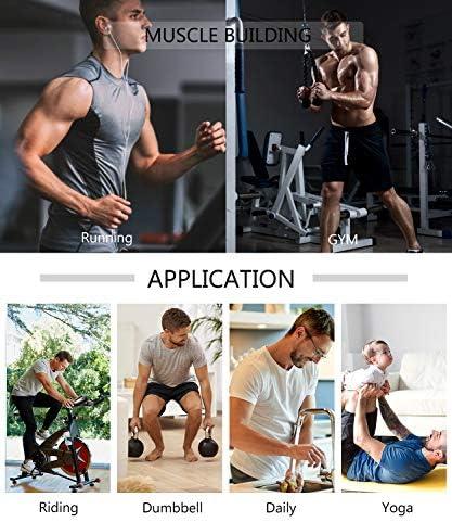 Men Neoprene Waist Trainer Sauna Sweat Suit Workout Vest Tank Top Tummy Control Shapewear Slimming Body Shaper 6