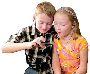 Safe-Listening Earphones for Kids