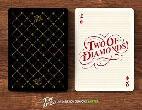 Type deck cards