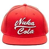 Bioworld Fallout Nuka Cola Snapback Cap Apparel