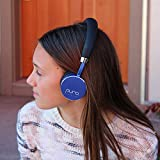 Puro Sound Labs BT2200 On-Ear Headphones Lightweight Portable Kids Earphones with Safe Wireless, Volume Limiting, Bluetooth and Noise Isolation for Smartphones/PC/Tablet - BT2200 Blue