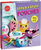 Klutz Stitch & Style Pouches Sewing & Craft Kit