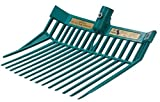 Product review for Full Size Blue Ribbon Stall Muck Fork Sawdust Straw PitchFork Horse Trailer TEAL
