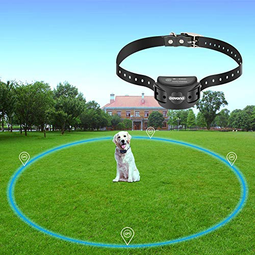 COVONO Wireless Electric Dog Fence with GPS,Dog Containment System(Waterproof...