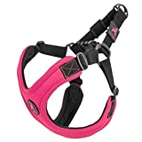 Gooby - Escape Free Sport Harness, Small Dog Step-In Neoprene Harness for Dogs that Like to Escape Their Harness, Pink, Small