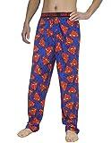 Mens SUPERMAN (MAN OF STEEL) Cotton Sleepwear / Pajama Pants XL Multicolor