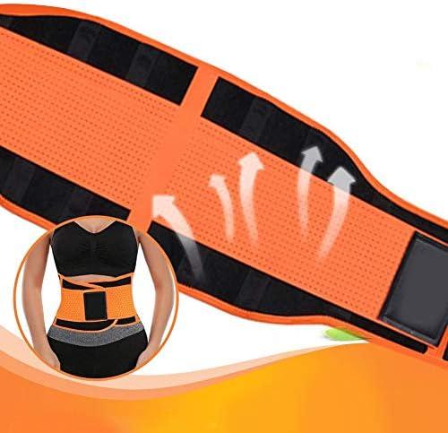 SCOBUTY Waist Trimmer,Waist Trimmer for Women and Men,Slimming Body Shaper Belt,Sport Girdle Belt, Comfortable Adjustable Waist Cincher Trimmer Weight Loss Belt,Back Support Sport Girdle Belt (4XL) 6