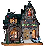 2016 Lemax Halloween Creepy Doll Shop with Light and Sound
